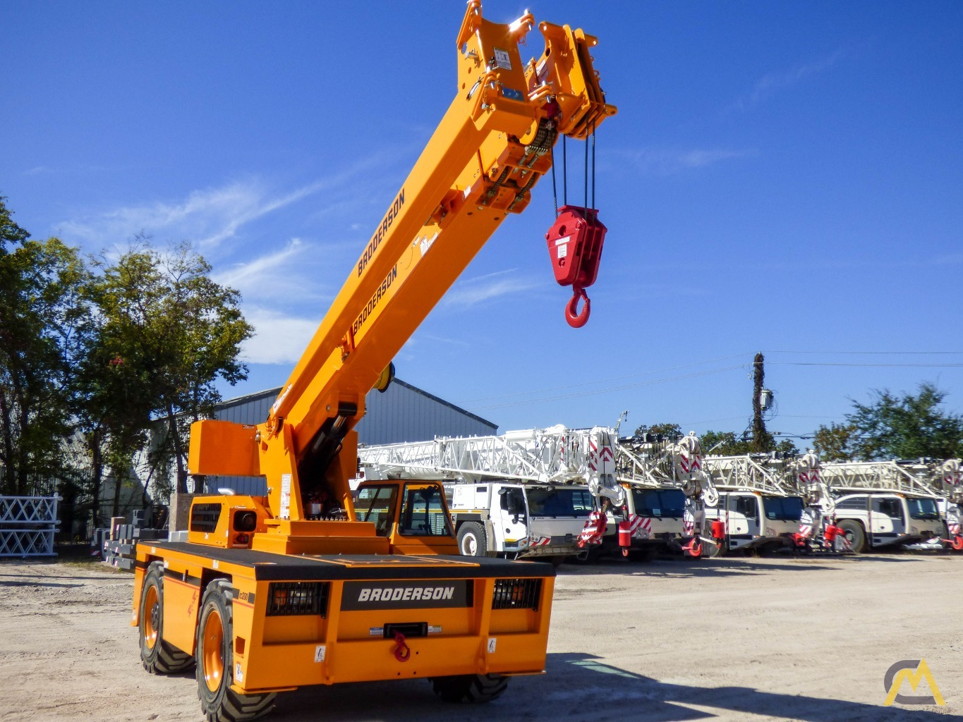 Broderson IC-200-3J 15-ton Available Immediately Carry Deck Industrial Crane 2
