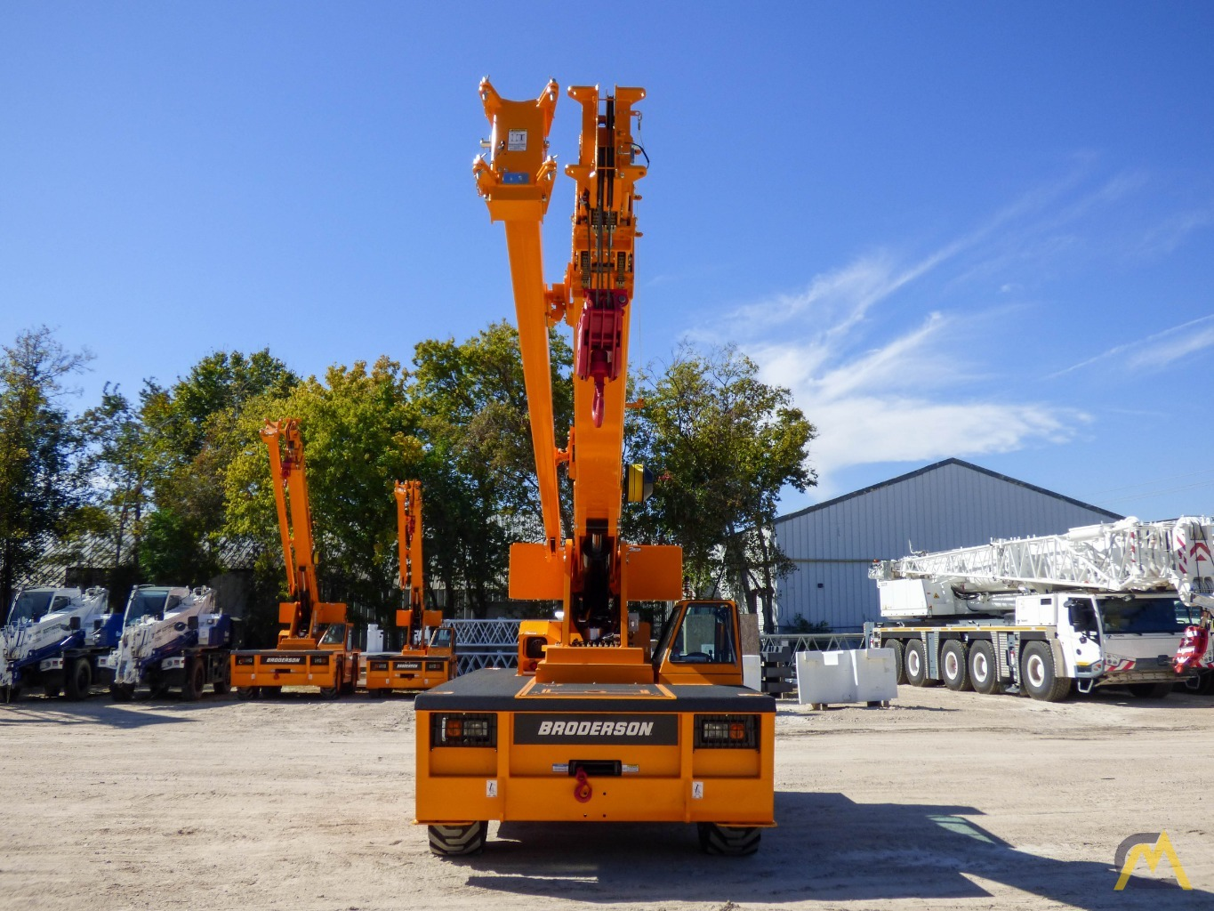 Broderson IC-200-3J 15-ton Available Immediately Carry Deck Industrial Crane 1