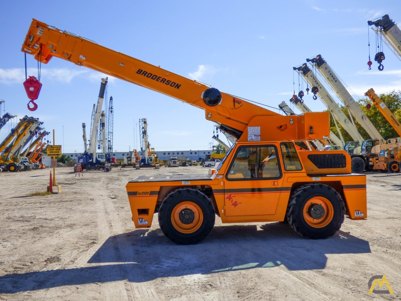Broderson IC-200-3J 15-ton Available Immediately Carry Deck Industrial Crane 8