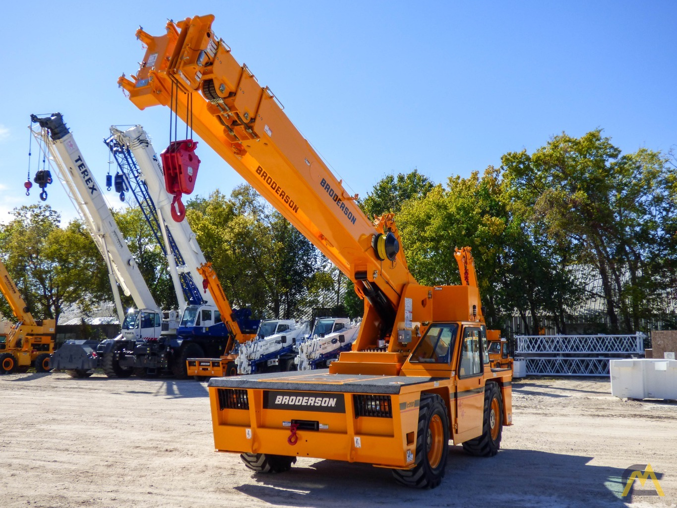 Broderson IC-200-3J 15-ton Available Immediately Carry Deck Industrial Crane 0