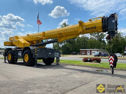 2020 Grove GRT880 80-Ton Rough Terrain Crane 1