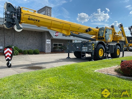 2020 Grove GRT880 80-Ton Rough Terrain Crane 0