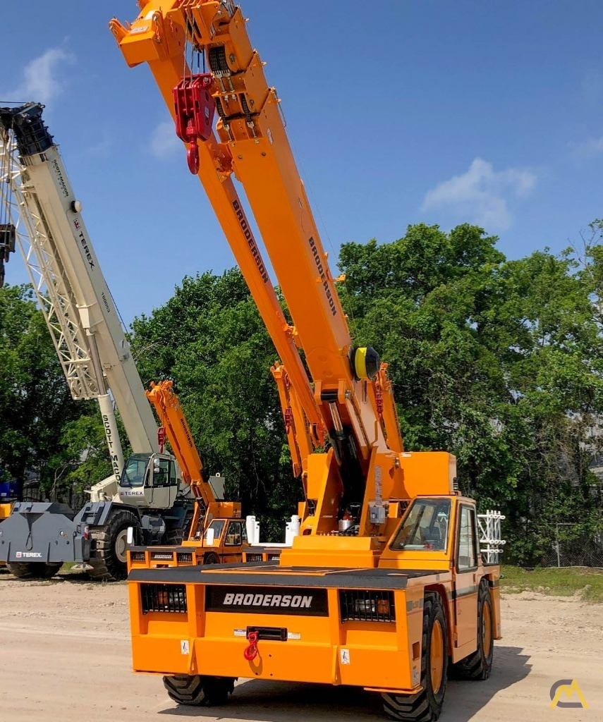 2021 Broderson IC-200-3J 15-Ton Carry Deck Crane 0