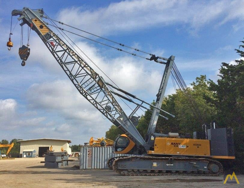220t Sany SCC8200 Lattice Boom Crawler Crane 0