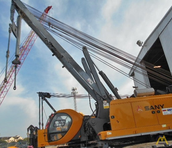 220t Sany SCC8200 Lattice Boom Crawler Crane 6