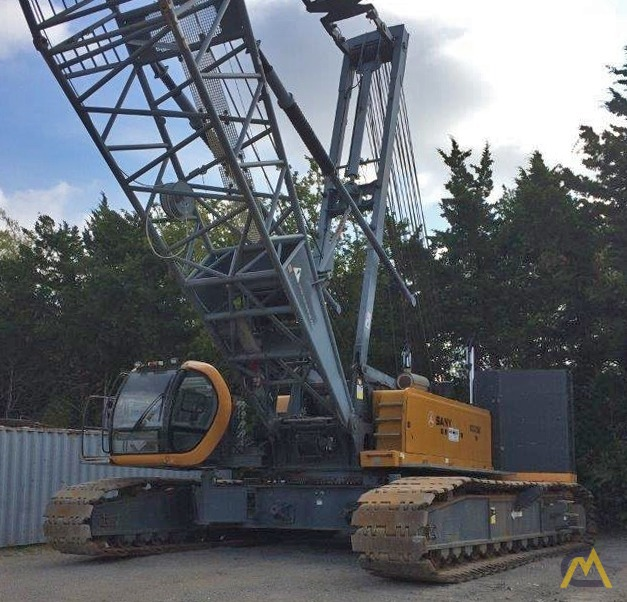 220t Sany SCC8200 Lattice Boom Crawler Crane 1