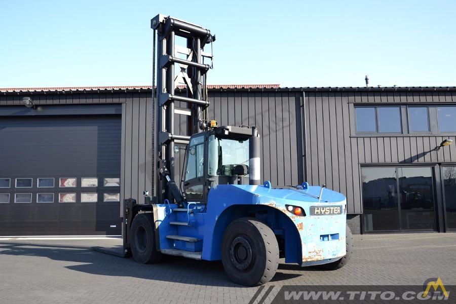 25t Hyster H25XMS-9 Lift Truck 2