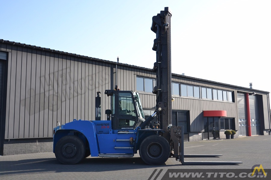 25t Hyster H25XMS-9 Lift Truck 3