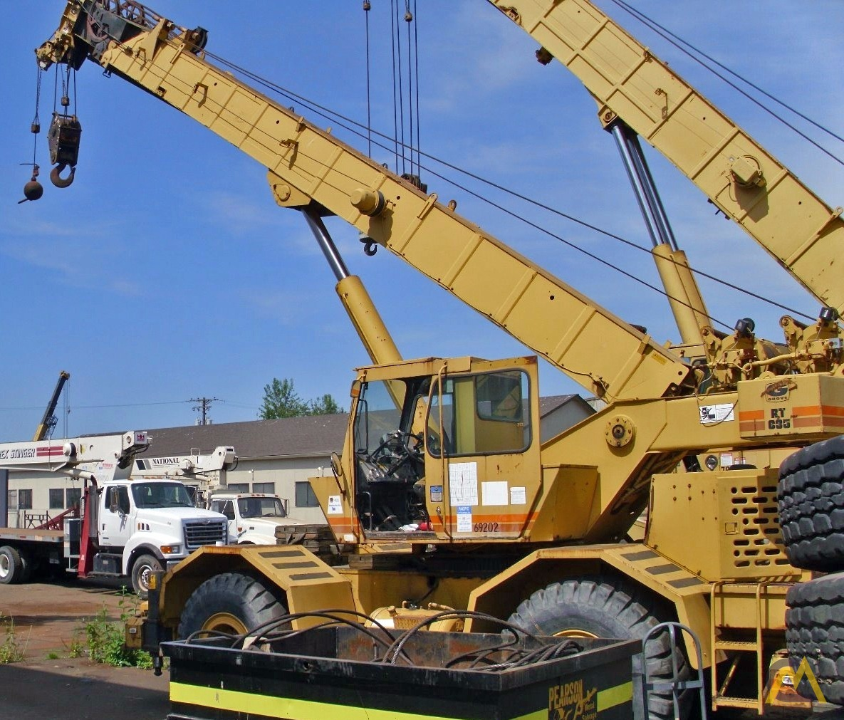 35t Grove RT635 Rough Terrain Crane 1