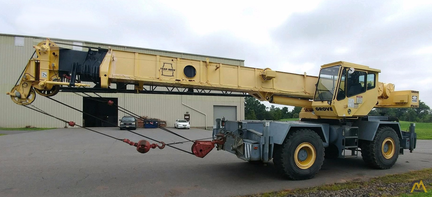 Grove RT635C 35-Ton Rough Terrain Crane 0