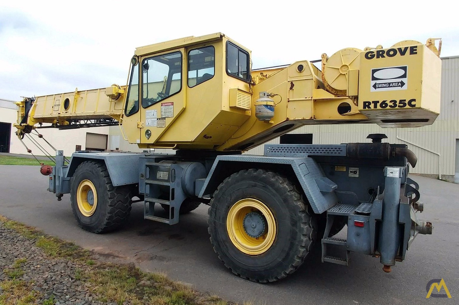 Grove RT635C 35-Ton Rough Terrain Crane 1