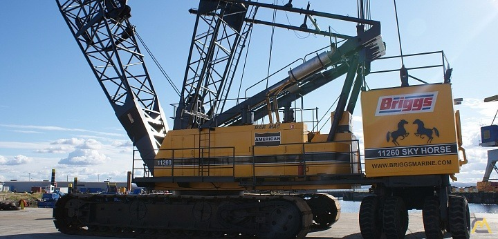 400t American 1100 Series Crawler Crane with Skyhorse 0