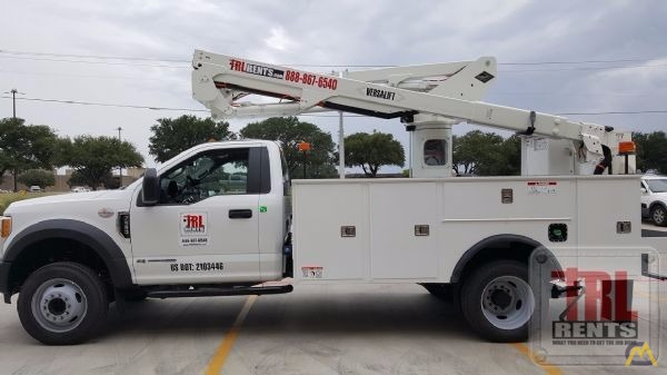 5bf770e54a 45  Versalift SST-40-EIH-01 Bucket Truck on Ford XL F-550 SOLD Boom ...