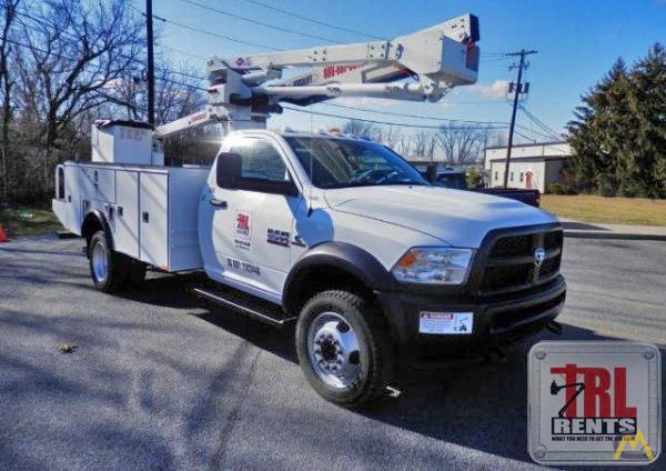 Dodge 5500 >> 45 Versalift Sst 40 Eih Bucket Truck On Dodge 5500 For Sale