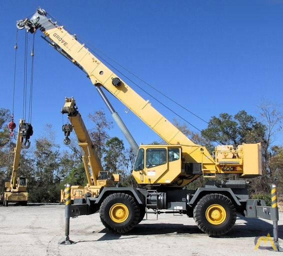 Grove RT650E 50-Ton Rough Terrain Crane 1
