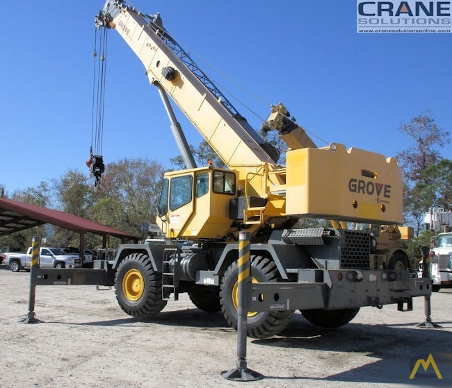 Grove RT650E 50-Ton Rough Terrain Crane 2