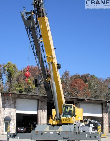 Grove RT650E 50-Ton Rough Terrain Crane 4