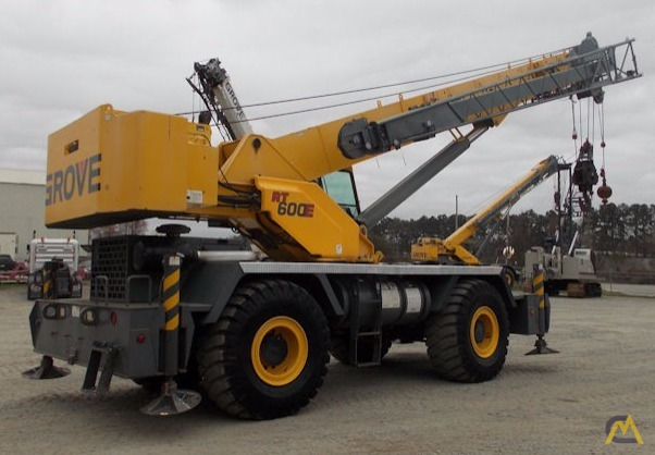 Grove RT650E 50-Ton Rough Terrain Crane 3