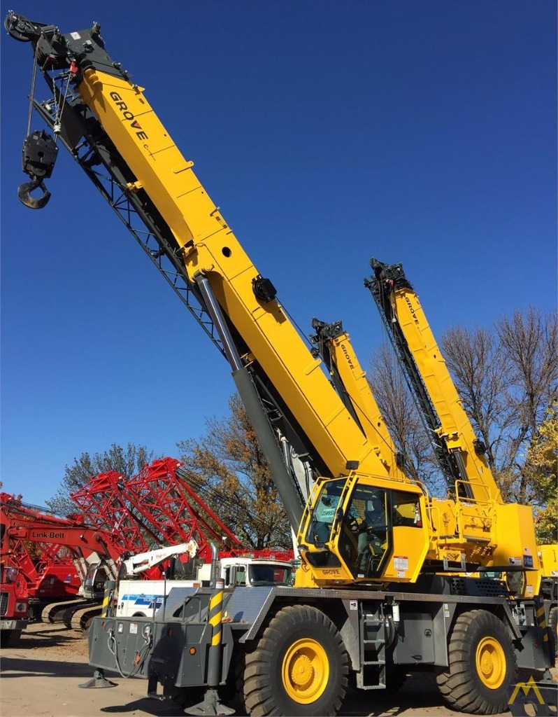 50t Grove RT650E Rough Terrain Crane 0
