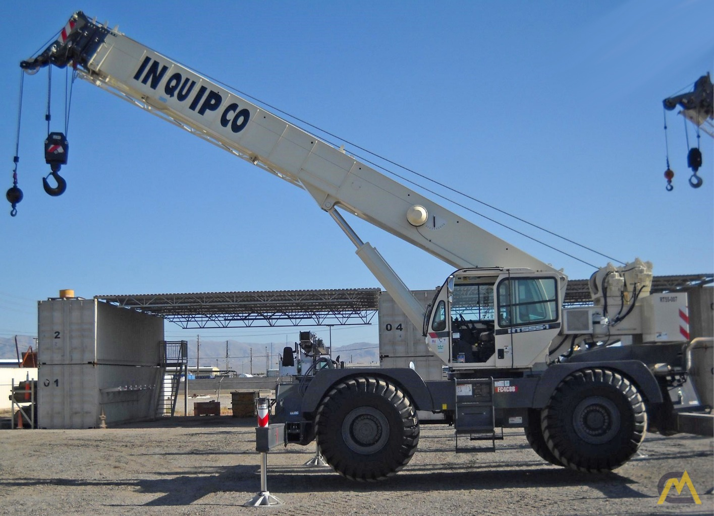 55t Terex Rt555 1 Rough Terrain Crane For Sale Or Rent Material Wiring Diagrams 0