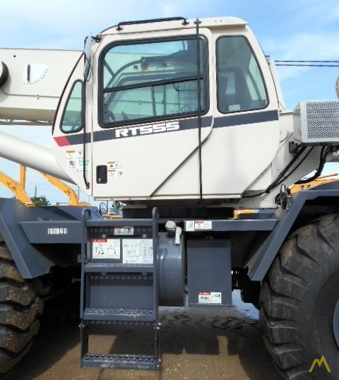 Terex RT 555 55-ton Rough Terrain Crane 8