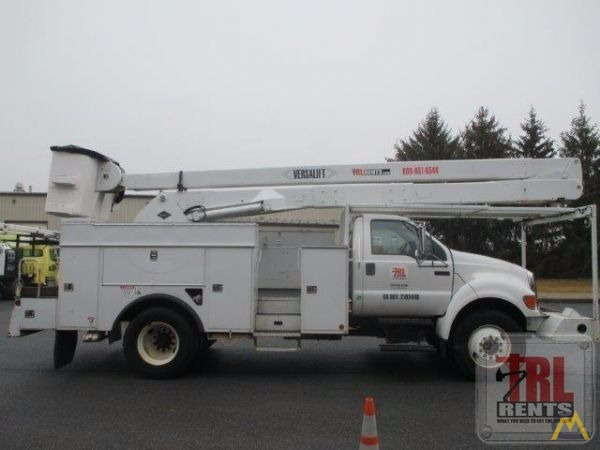 fac5588c00 60  Versalift VN-55-I Articulating Bucket Truck on Ford F-750 SOLD ...