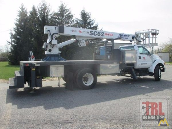 Manitex SC62 3-ton Sign Crane on Ford F-750 3