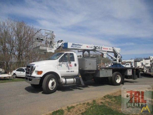 Manitex SC62 3-ton Sign Crane on Ford F-750 7