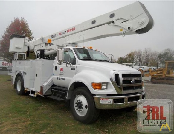 f9b06a5bb1 65  Versalift VO-460-MHI Bucket Truck on Ford F-750 SOLD Boom Lifts ...