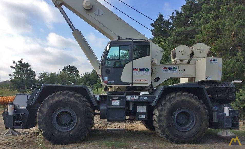 Terex RT 670 70-ton Rough Terrain Crane 3