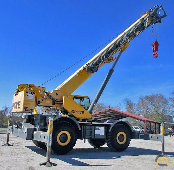 Grove RT880E 80-Ton Rough Terrain Crane 4