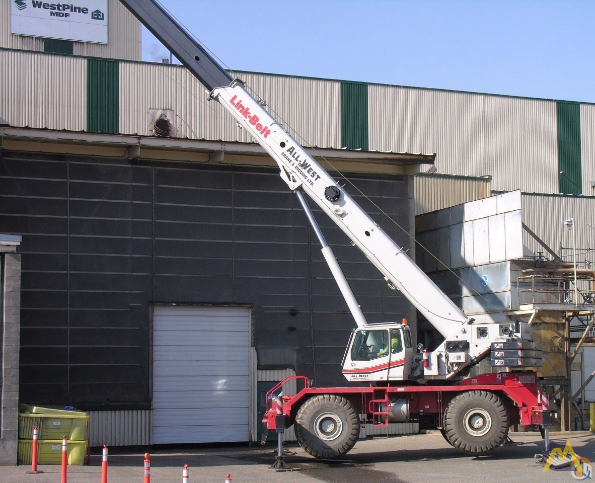 Link-Belt RTC-8090 Series II 90-ton Rough Terrain Crane 1
