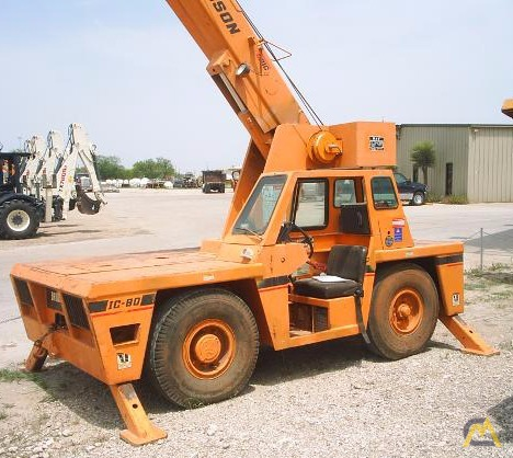 Broderson IC-80-1E 8-ton Industrial Carry Deck Crane For Sale