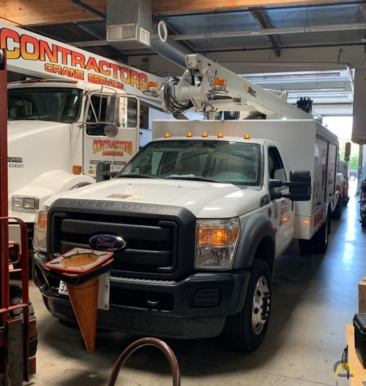 Altec AT248F Articulating Bucket Truck on Ford F550 2