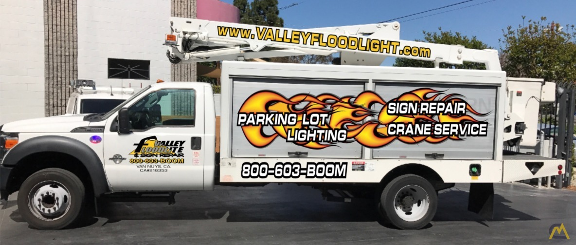 Altec AT248F Articulating Bucket Truck on Ford F550 0