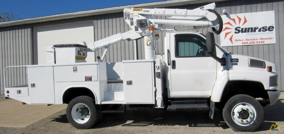 Altec At37g 42 Articulating Aerial Work Platform On Chevy C5500 For