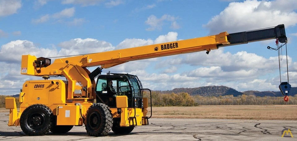 Badger CD4415 15-Ton Rough Terrain Crane 1
