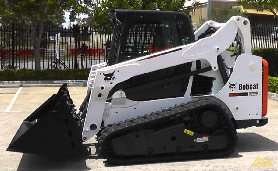 Bobcat T590 Skid Steer Loader 0