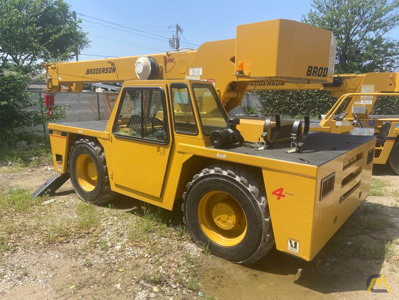 Broderson IC-200-2F 15-ton Carry Deck Industrial Crane 2