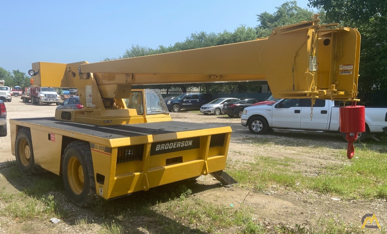 Broderson IC-200-2F 15-ton Carry Deck Industrial Crane 1