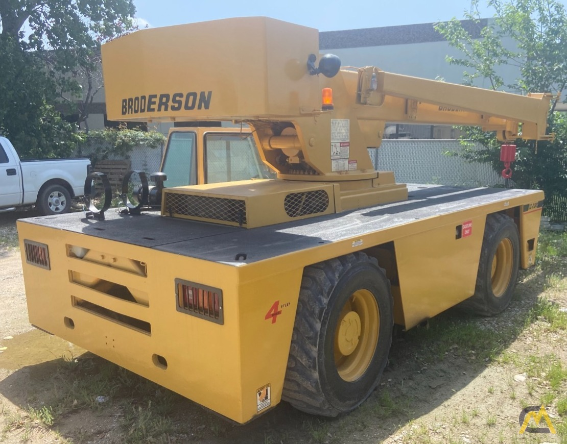 Broderson IC-200-2F 15-ton Carry Deck Industrial Crane 3