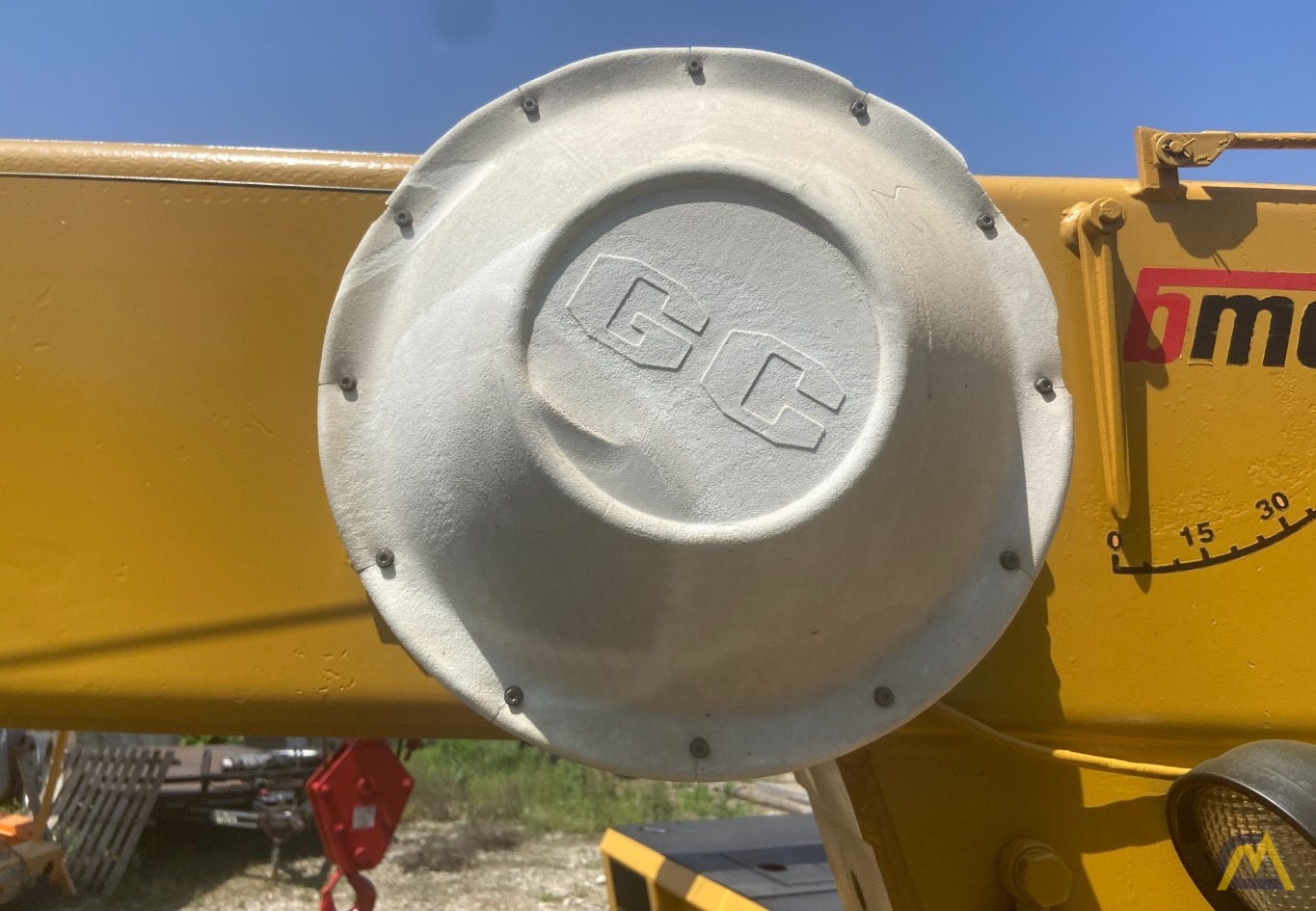 Broderson IC-200-2F 15-ton Carry Deck Industrial Crane 13