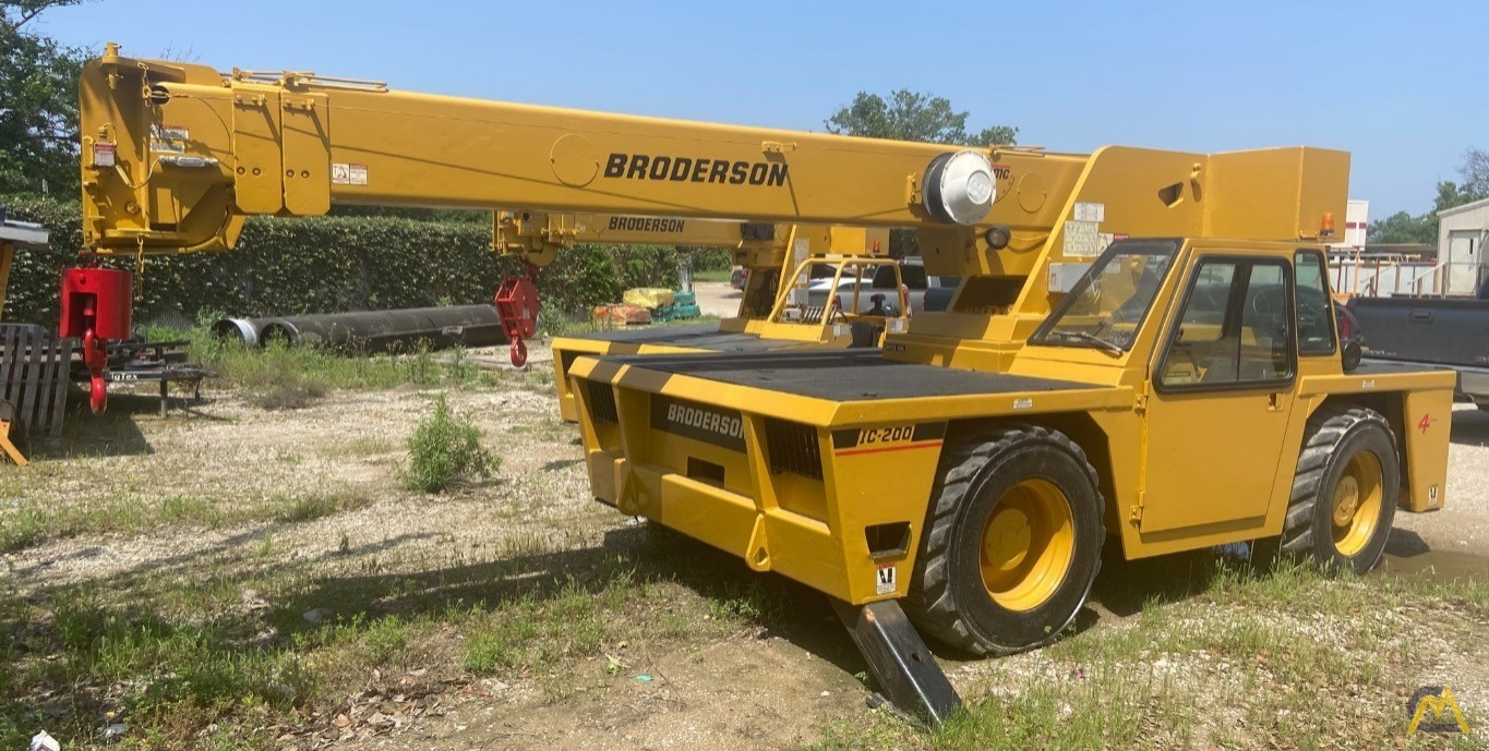 Broderson IC-200-2F 15-ton Carry Deck Industrial Crane 0