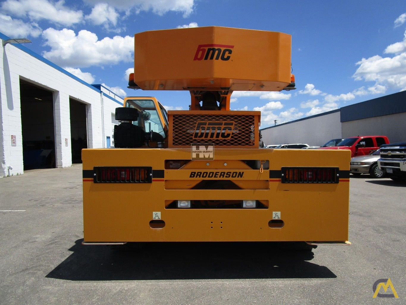 Broderson IC-200-2H 15-ton Industrial Carry Deck Crane 3