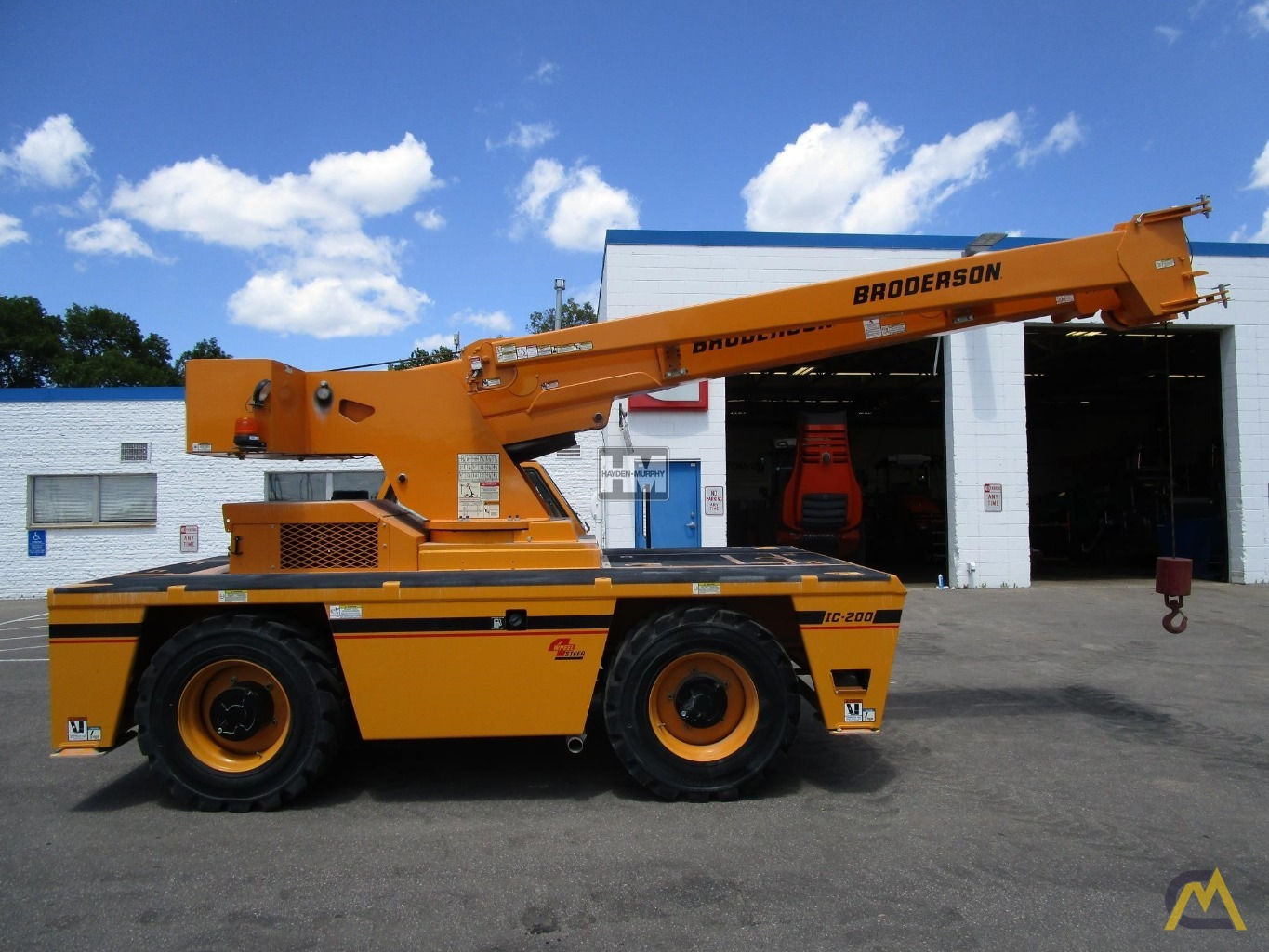 Broderson IC-200-2H 15-ton Industrial Carry Deck Crane 6