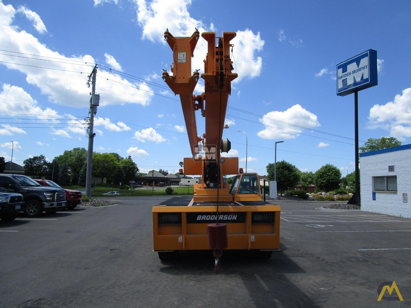Broderson IC-200-2H 15-Ton Industrial Carry Deck Crane 8