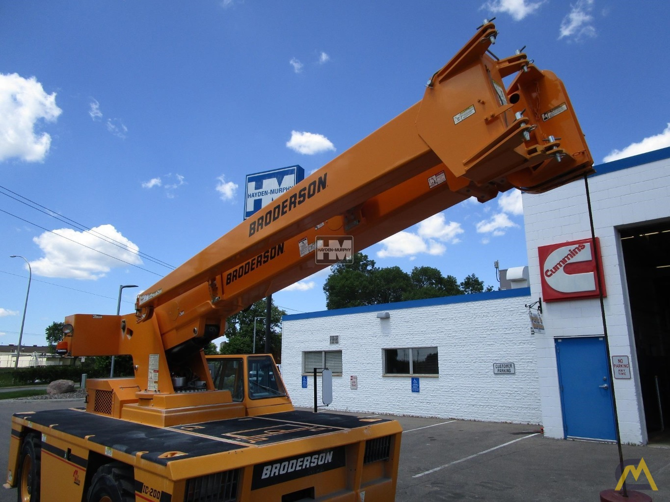 Broderson IC-200-2H 15-Ton Industrial Carry Deck Crane 13