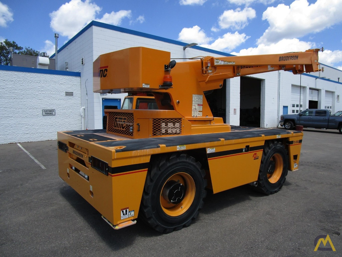 Broderson IC-200-2H 15-Ton Industrial Carry Deck Crane 4