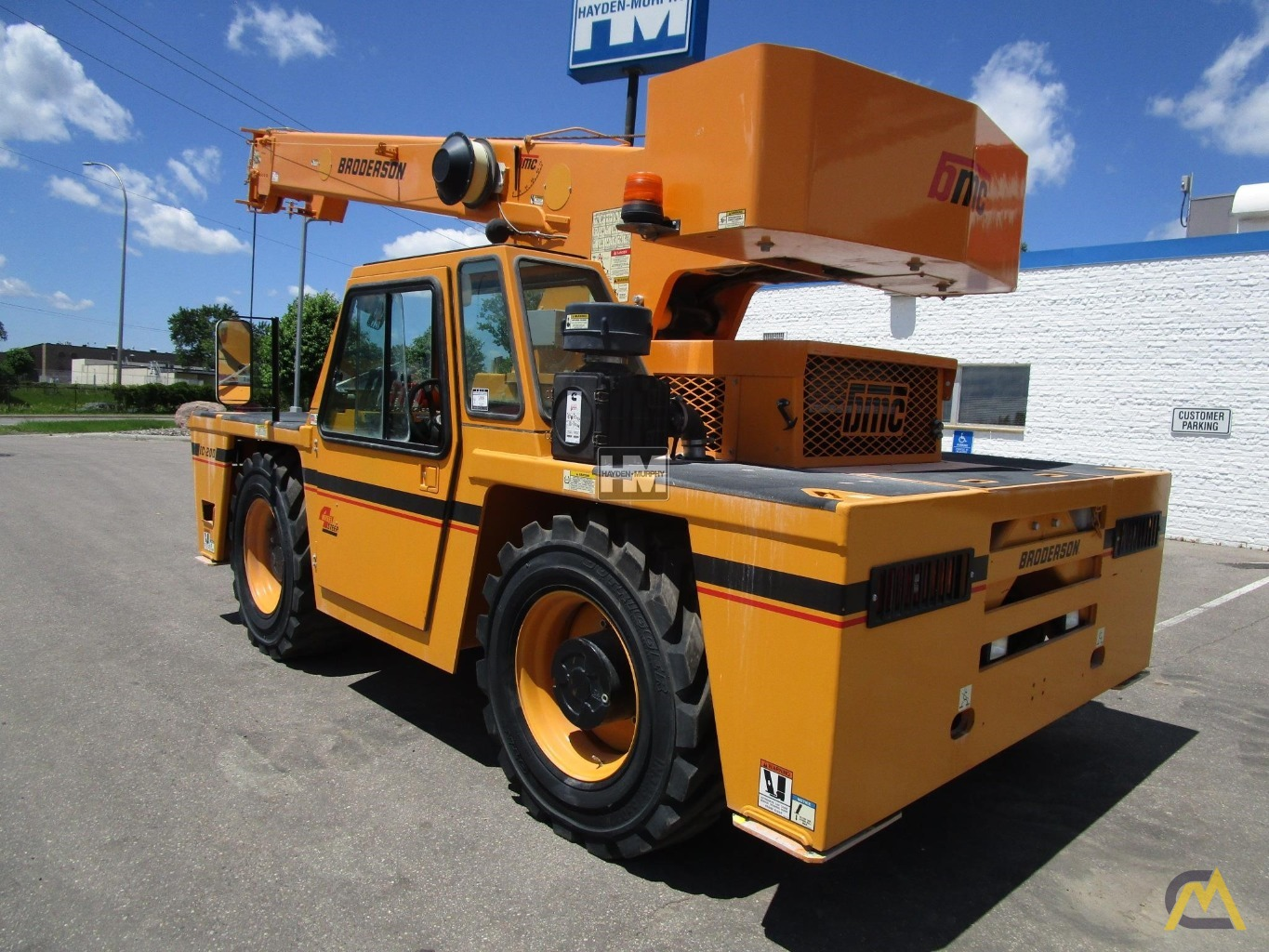 Broderson IC-200-2H 15-Ton Industrial Carry Deck Crane 1