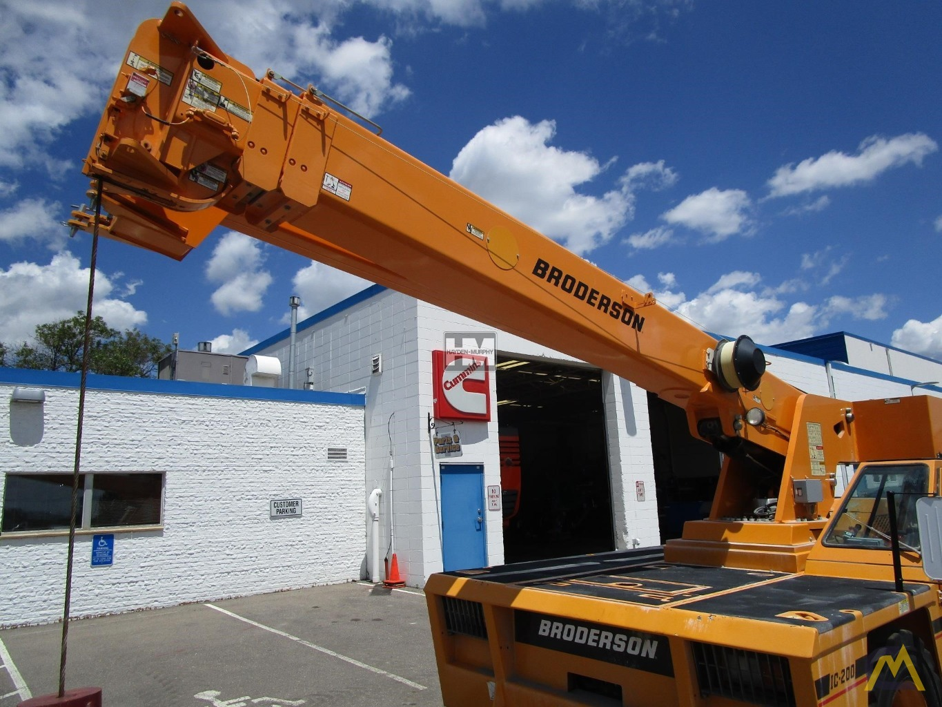 Broderson IC-200-2H 15-ton Industrial Carry Deck Crane 14